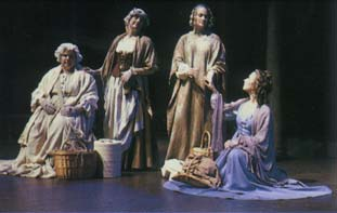 Onstage in 'All's Well That Ends Well'